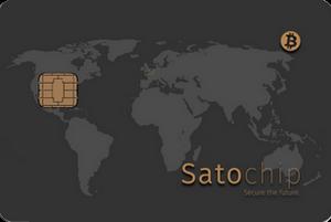 Satochip Bitcoin hardware wallet