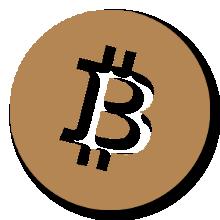 Bitcoin - Satochip gold logo