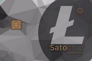 Satochip Litecoin hardware wallet