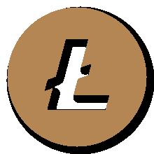 Litecoin - Satochip gold logo