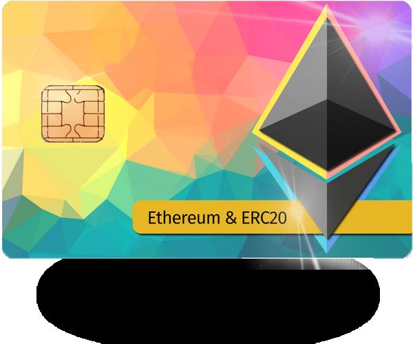 Satochip Ethereum and ERC20 tokens hardware wallet