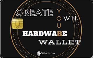Satochip hardware wallet - Create your own design