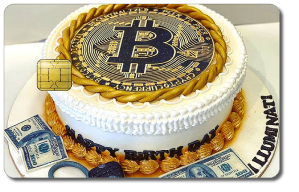 Satochip hardware wallet - Create your own design - Bitcoin anniversary