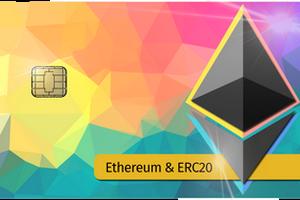 Ethereum Satochip hardware wallet